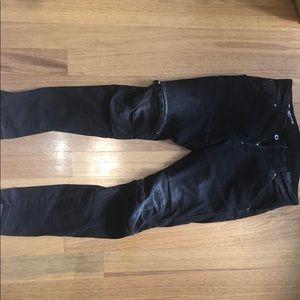 MENS GStar Jeans Dark Black Denim